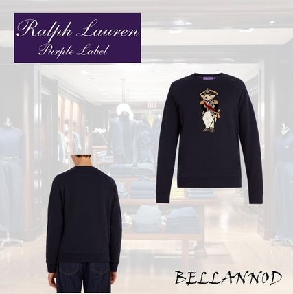 Crew Neck Blended Fabrics Long Sleeves Other Animal Patterns