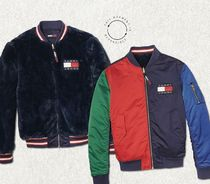 Tommy Hilfiger Casual Style Street Style Medium Bomber Jackets