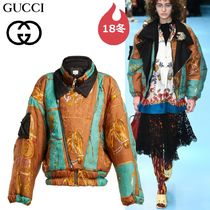 GUCCI Short Leopard Patterns Other Animal Patterns Jackets
