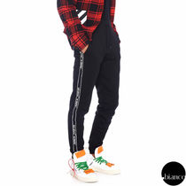 Off-White Sweat Street Style Pants