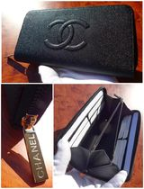 CHANEL TIMELESS CLASSICS Unisex Leather Long Wallets