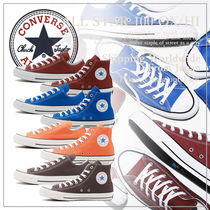CONVERSE ALL STAR Unisex Plain Sneakers