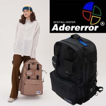 ADERERROR Casual Style Unisex Street Style Backpacks
