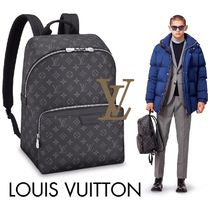 8dcb9a22be27 Louis Vuitton MONOGRAM Monogram A4 Leather Backpacks