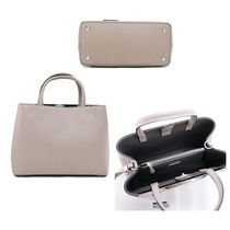 FENDI Calfskin 2WAY Plain Handbags