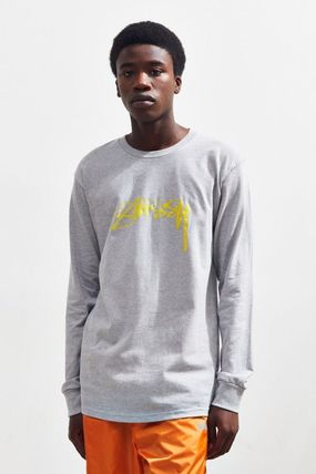 STUSSY More T-Shirts Crew Neck Street Style Long Sleeves Long Sleeve T-shirt 2