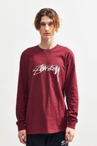 STUSSY More T-Shirts Crew Neck Street Style Long Sleeves Long Sleeve T-shirt 12
