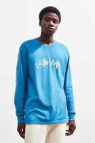 STUSSY More T-Shirts Crew Neck Street Style Long Sleeves Long Sleeve T-shirt 6