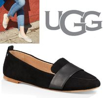UGG Australia Plain Leather Office Style Flats