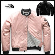 THE NORTH FACE Short Casual Style Street Style Plain Biker Jackets