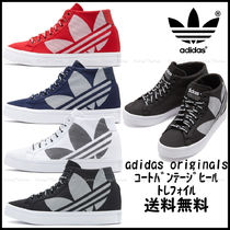 adidas Wedge Plain Toe Casual Style Street Style