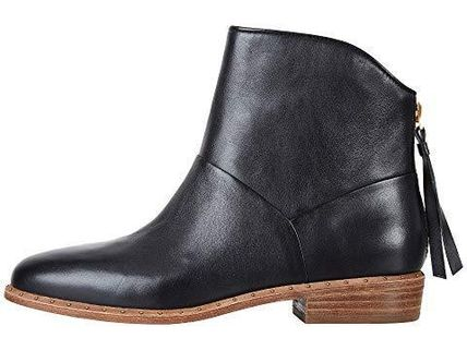 UGG Australia Ankle & Booties Round Toe Casual Style Tassel Street Style Plain Leather 5