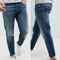 SELECTED Tapered Pants Cotton Jeans & Denim