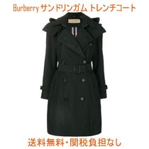 Burberry THE SANDRINGHAM Leather Trench Coats