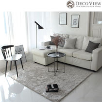 DECO VIEW Collaboration Plain Carpets & Rugs