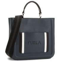 FURLA Casual Style 2WAY Leather Totes