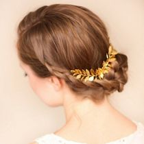 Blended Fabrics With Jewels Elegant Style Hair Accessories