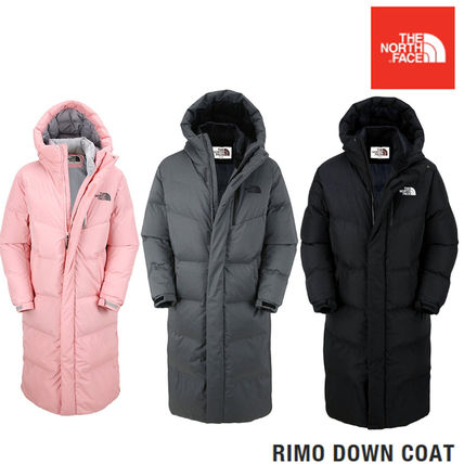 THE NORTH FACE 2018-19AW Unisex Plain Long Down Jackets (RIMO DOWN ... 68c3a0a2e