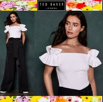TED BAKER Plain Medium Elegant Style Tops