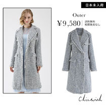 Chicwish Other Check Patterns Tweed Chester Coats