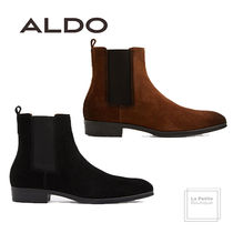 ALDO Plain Leather Chelsea Boots Oversized Chelsea Boots
