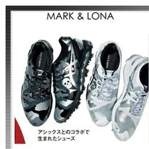 MARK&LONA Camouflage Street Style Collaboration Shoes