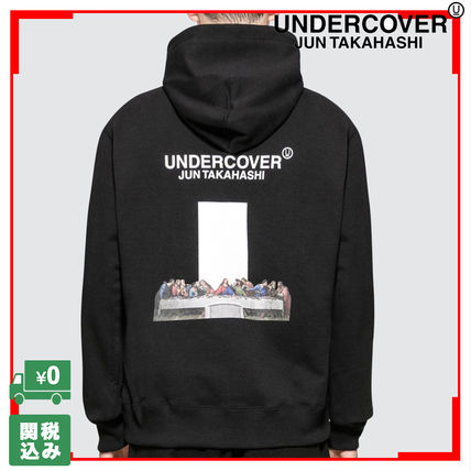 Pullovers Unisex Street Style Long Sleeves Oversized Hoodies