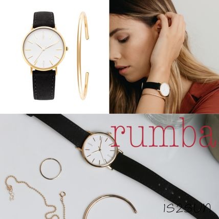 Casual Style Street Style Round Analog Watches