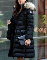 MONCLER KHLOE Fur Down Jackets