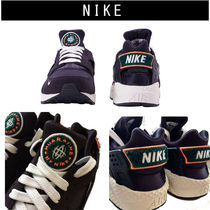 Nike AIR HUARACHE Blended Fabrics Street Style Sneakers