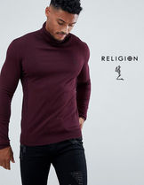 Religion Skull Street Style Long Sleeves Knits & Sweaters
