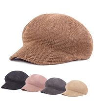 Blended Fabrics Street Style Wide-brimmed Hats