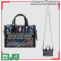 MADE ME Casual Style Unisex Street Style Collaboration Shoulder Bags