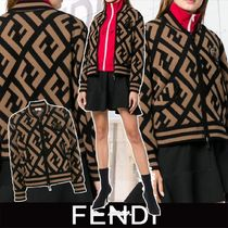 FENDI Short Monogram Jackets