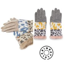bimba & lola Casual Style Wool Other Animal Patterns Gloves Gloves