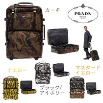 PRADA SAFFIANO LUX Camouflage A4 Other Animal Patterns Leather Bags