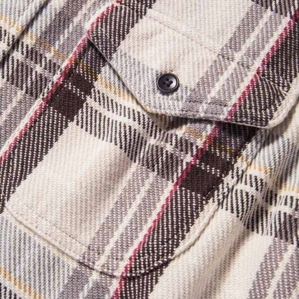 Ron Herman Shirts Other Check Patterns Street Style Long Sleeves Shirts 3