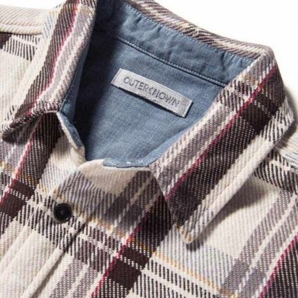 Ron Herman Shirts Other Check Patterns Street Style Long Sleeves Shirts 4
