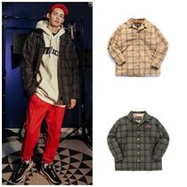 PUNCHLINE Other Check Patterns Unisex Coats
