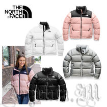 THE NORTH FACE Nuptse Street Style Plain Medium Down Jackets