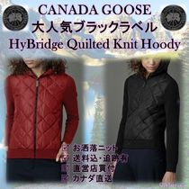CANADA GOOSE HYBRIDGE LITE Canada Goose Black Label HyBridge Quilted Knit Hoody