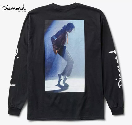 Street Style Collaboration Long Sleeves Long Sleeve T-Shirts