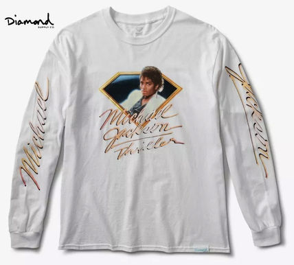Crew Neck Street Style Collaboration Long Sleeves