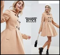 ASOS Plain Medium Elegant Style Duffle Coats