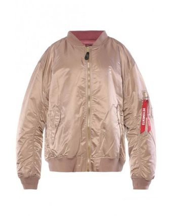 Unisex Street Style Collaboration MA-1 Bomber Jackets