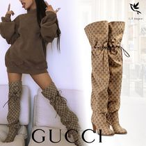 GUCCI Elegant Style Boots Boots