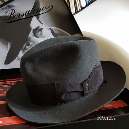 Collaboration Felt Hats Wide-brimmed Hats