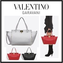 VALENTINO 2WAY Leather Totes