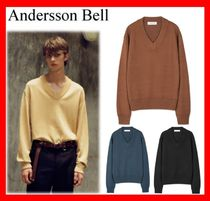 ANDERSSON BELL Unisex Street Style Long Sleeves Knits & Sweaters