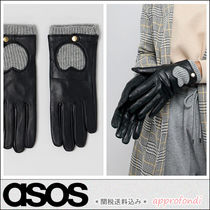 ASOS Heart Blended Fabrics Leather Elegant Style